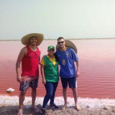 Volcan del totumo y mar rosado